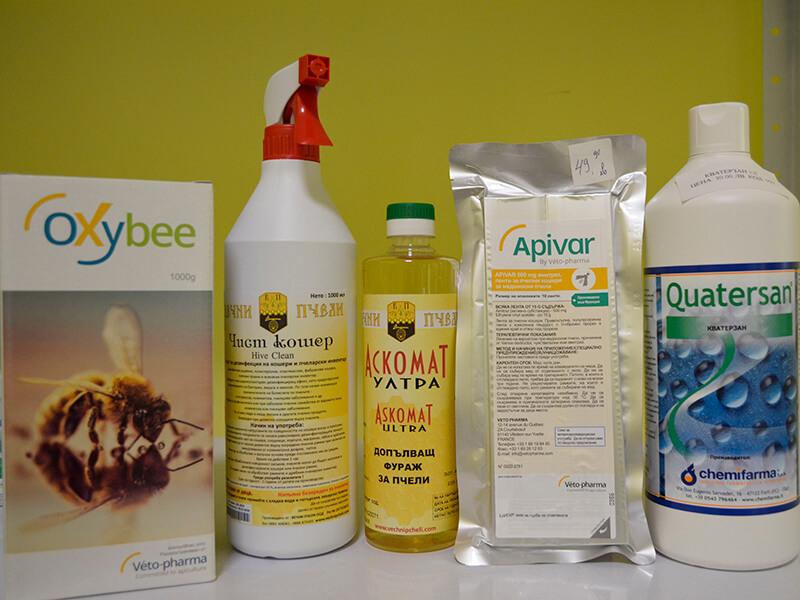 препарати за лечение на пчели